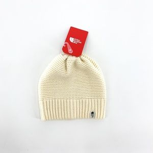 nwt | The North Face Ivory Knit Beanie